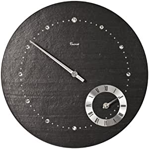 Vaerst 2784 orologio da parete al quarzo in ardesia - Ardesia per cucinare ...
