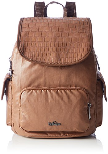 bce6f9f615 Kipling City Pack S, Borse a zainetto Donna Marrone Tan Weave Où ...