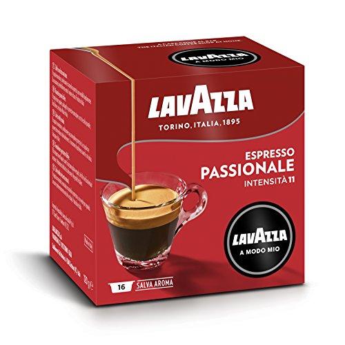 Lavazza A Modo Mio Capsule Caffè Espresso Passionale - Confezione da 256 Capsule