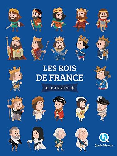 Les rois de France - Carnet par Clémentine V. Baron