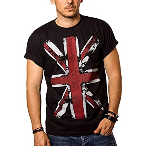 dia del orgullo friki Camiseta con bandera de inglaterra - UNION JACK