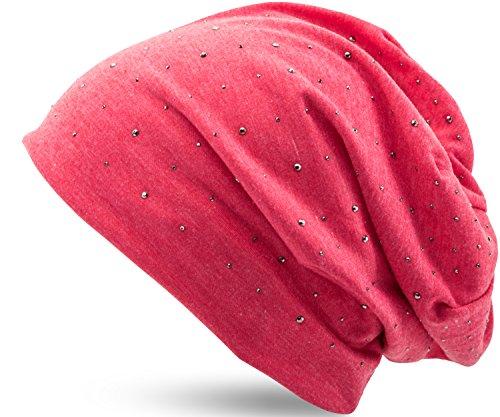 Klassisches Long Slouch Beanie von Balinco® mit Strass Steinen besetzt aus 100% Baumwolle (elastisch) Diese Beanies von Balinco kommen in den klassischen Long Slouch Beanie Maßen daher. • Sehr weiches und angenehmes Tragegefühl • Beanies aus Baumwoll...