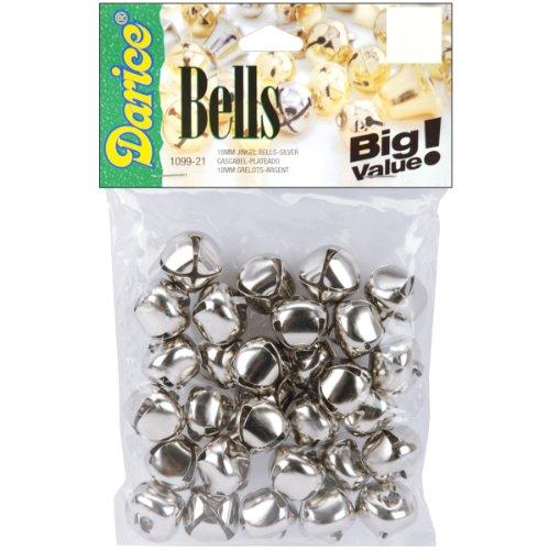 Jingle Bells .75 30/Pkg-Silver by Darice
