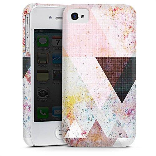 Apple iPhone 5s Housse étui coque protection Triangles Triangles Triangles Cas Premium mat