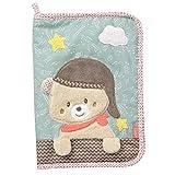 Fehn 060461 - Funda para historial médico con diseño de oso, multicolor
