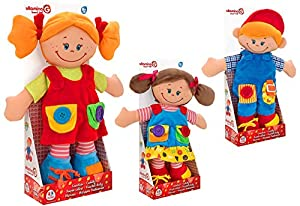GLOBO- Doll Relleno cm38 3asstd (05357), (1)