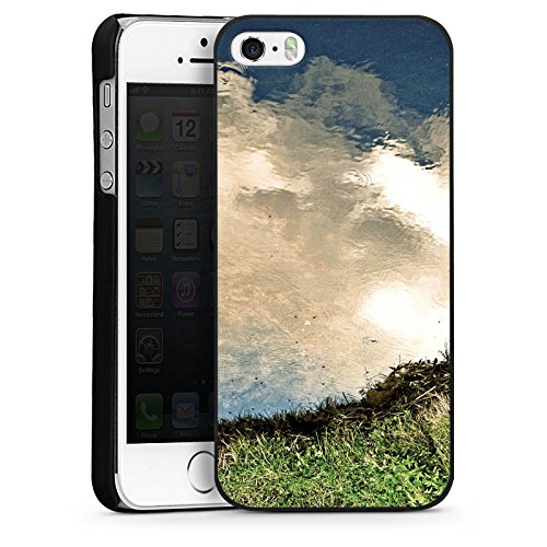 Apple iPhone 6 Housse Étui Silicone Coque Protection Eau Water Prairie CasDur noir