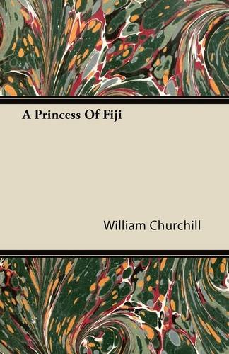A Princess Of Fiji Cover Image