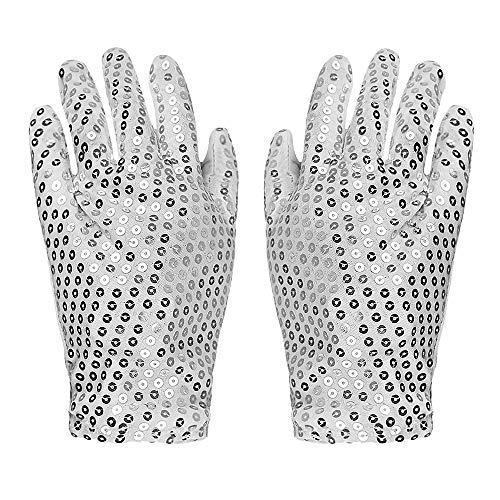 r Handschuhe LED-Handschuhe Finger Lichter 6 Modes Flashing Rave Handschuhe Light UpToys ()