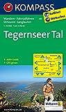 Tegernseer Tal: Wanderkarte mit Aktiiv Guide, Radwegen, Skitouren und Loipen. GPS-genau. 1:25000 (KOMPASS-Wanderkarten,