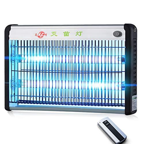 Uv-Desinfektionslampe, Haushaltsdesinfektion Licht Ozon TöTet 99,9% Der Bakterien Schimmel Keim Viren 20w Mit Fernbedienung -