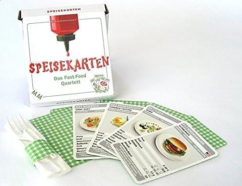 MeterMorphosen MET00397 - Speisekarten - Das Fast-Food Quartett (Spiel Des Jahres Liste)