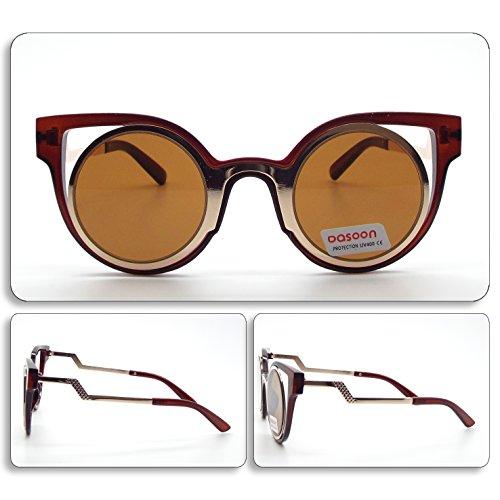 see vision Sonnenbrille Sunglasses Damen Grau/Braun Sommer 2016Ibiza Art. 082