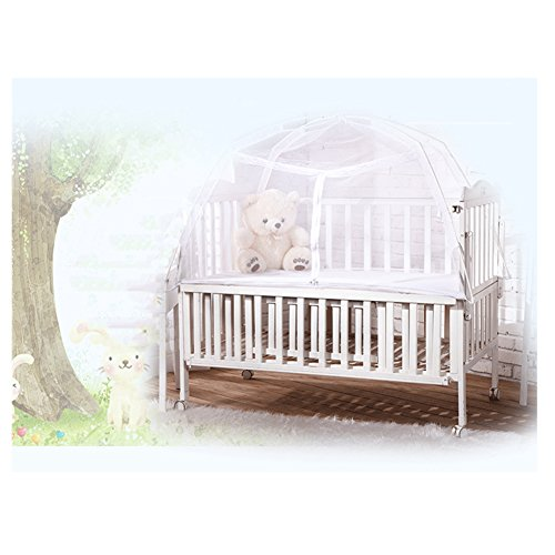Kuke Babybett Moskitonetz für Babybett, Moskitonetz, Glasfaser, faltbar, für Kinder,