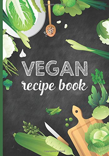 Vegan Recipe Book: Blank Recipe Journal For Vegans Fun Easy DIY Cookbook Pink Soup Bowl