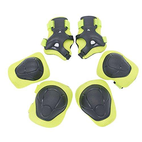 yakamoz-kids-protective-gear-set-knee-elbow-pads-wrist-guards-for-child-skateboard-roller-skating