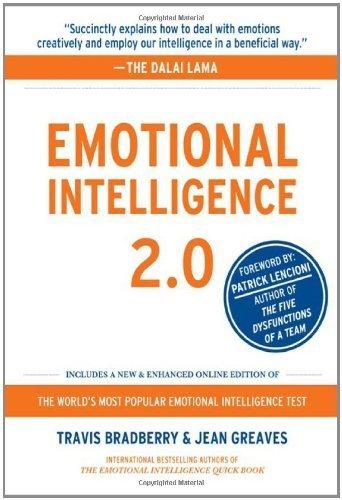 Emotional Intelligence 2.0 by Bradberry, Travis, Greaves, Jean (2009) Hardcover