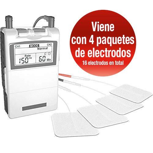 Med-Fit Electroestimulador Digital Masaje EMS TENS