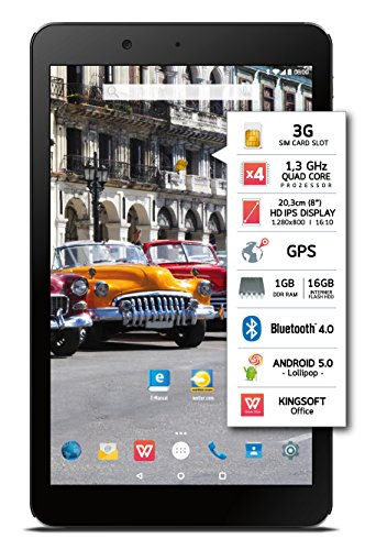 Odys Syno Tablet-PC 8 Zoll HD IPS Display - 3