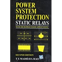 Power System Protection: Static Relays: with Microprocessor Applications by Rao, T.S.Madhava (1989) Hardcover