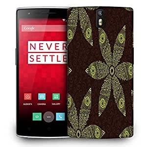 Snoogg floral seamless pattern Designer Protective Back Case Cover For OnePlus One