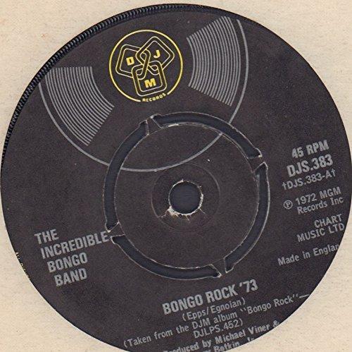 """Bongo Rock '73 - UK 7"""" vinyl"""