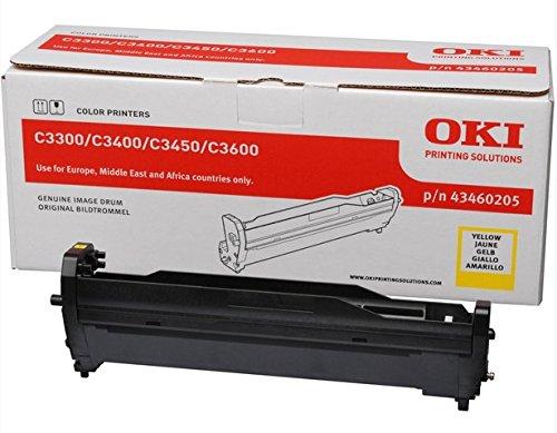 Preisvergleich Produktbild OKI 43460205 Bildtrommeleinheit gelb für C3300 / C3400