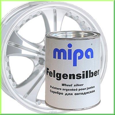felgenspray silber MIPA Felgensilber - Autofelgenlack, 1 Ltr.