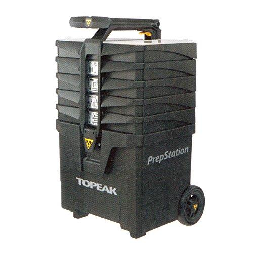 Topeak PrepStation - Carrello per riparazione biciclette, senza utensili