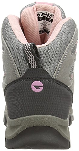 Hi-Tec - Hillside Waterproof Junior, Scarpe da arrampicata Bambina Grigio (Grey/pink 051)