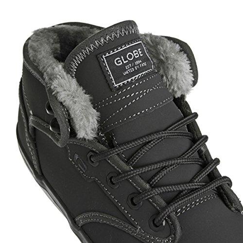 Globe Motley, Herren Sneaker charcoal/grey fur