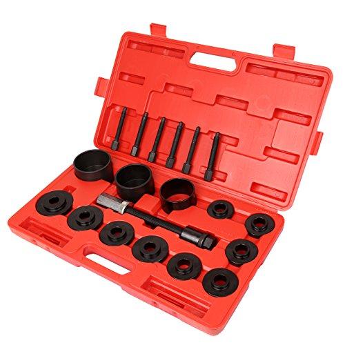 """Ambiente Disco Rueda delantera coches conjunto extractor hub kit de herramienta de instalación de eliminación de cojinetes universal de brocas 2–3/16""""a 3–19/32"""" Drift tamaño FWD"""