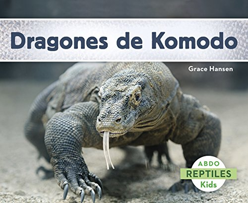Dragones de Komodo (Abdo Kids: Reptiles)