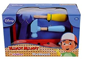 Peasytoys Disney Handy Manny Wooden Tool Bench 20 Pieces Toys Games