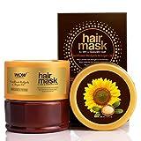 WOW Skin Science Sunflower Biolipids & Argan Oil Hair Mask for Dry