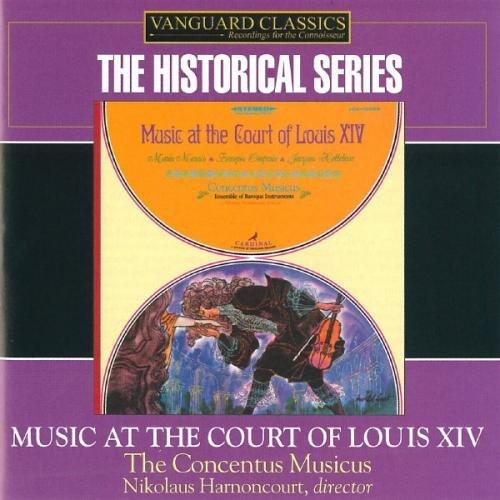"""Louis XIV Music: Alcione: Suite No 2 """"Airs pour les Éoliens/Marin Marais etc"""