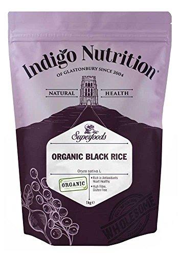 Indigo Herbs Organic Black Rice 1kg