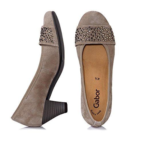 Gabor 65482-12, Scarpe col tacco donna Visone