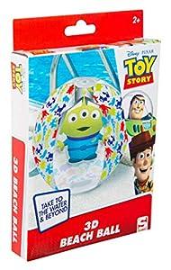 Pelota de Agua Sambro DTS-3396 con Efecto 3D, Aprox. 45 cm Toy Story Diseño con Alien para niños a Partir de 2 años con válvula de Seguridad, Ideal para Piscina, Playa y Piscina
