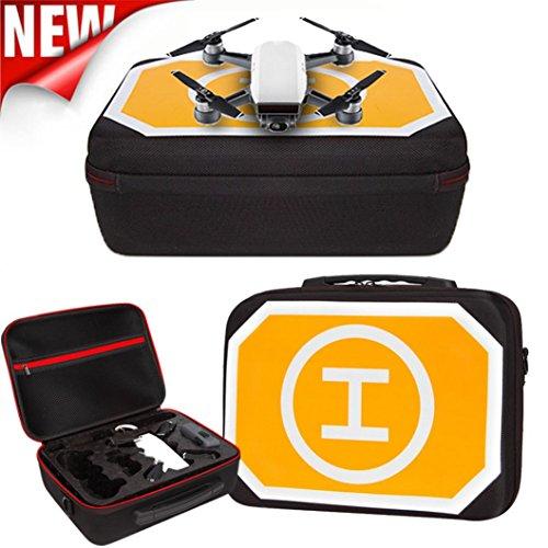 MMLC Wasserdichte Rucksack-Umhängetasche im Freien Mini Parkschürze für DJI Spark Drone (A)