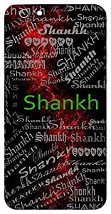 Shankh (Conch Shell A Kind Of Flute) Name & Sign Printed All over customize & Personalized!! Protective back cover for your Smart Phone : Micromax Canvas Canvas Hue-2