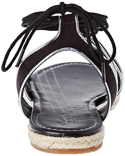 Donna Di Pepe Lacci Jeans London Sandali Colore Venize nero rfwxYwXq7