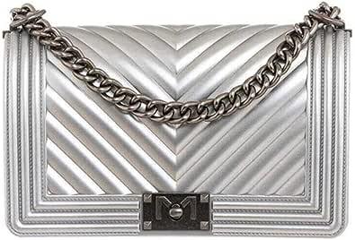 Marc Ellis Borsa flat M tracolla silver
