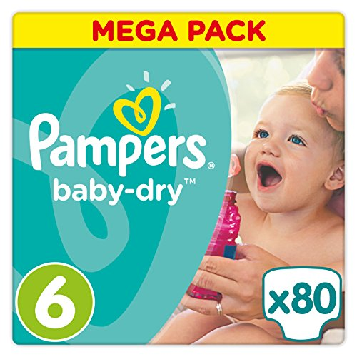 Pampers Baby Dry Größe 6 Extra Large 15+ kg Mega Plus Pack