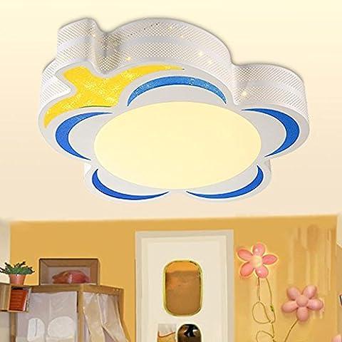 MSRRY Stanza dei bambini luce lampade cartoon camera bambini led luce a soffitto delle ragazze della stanza del tuo bimbo fari , Occhio Blu + bianco grande occhio