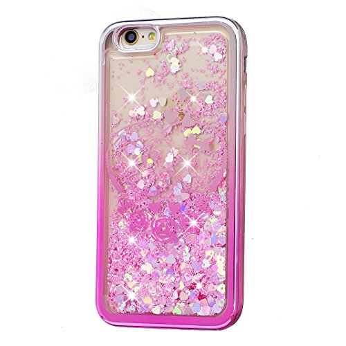 iPhone 5/5S/SE Hülle OuDu Glitzern Funkeln Hülle TPU Silicone Etui für iPhone 5/5S/SE Bling Glitter Case Soft Lightweight Bumper Sparkle Style Cover Flexible Schlanke Schale Glatte Leichte Tasche Ultr Nette Eule