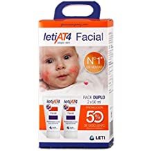 LETI AT4 FACIAL PIELES TÓPICAS PACK DUPLO 2X50ML.