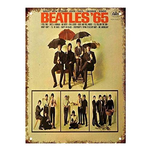 Lorenzo The Beatles Capitol Records Album Cover Vintage Metal Vintage Metal Vintage Metallblechschild Wand Eisen Malerei Plaque Poster Warnschild Cafe Bar Pub Bier Club Dekoration -