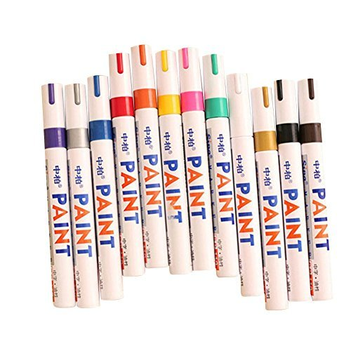 12colori-set-fine-vernice-a-base-di-olio-art-pennarello-metallo-vetro-impermeabile