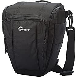 Lowepro Toploader Zoom 50 AW II - Funda para cámara, negro